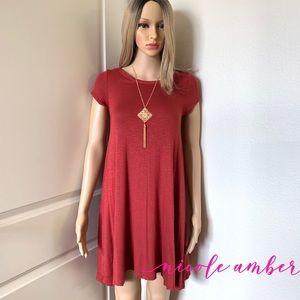 Women's Swing Dress (NWOT) SZ S (FREE NECKLACE)